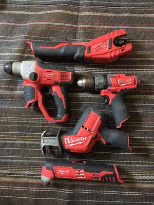 Milwaukee 12v tolls good condition (((( no charge no battery)))) for Sale in Falls Church, VA