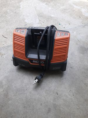 Ridgid charger for Sale in Oxnard, CA