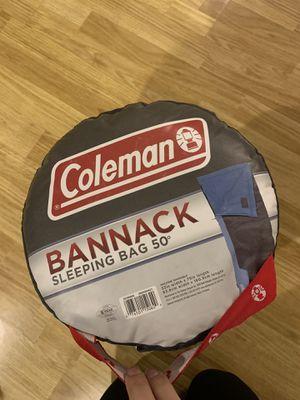 Coleman Sleeping Bag 50* for Sale in Los Angeles, CA