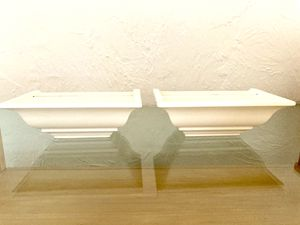 Set of 2 Standing / Wall Shelves for Sale in Freeport, NY