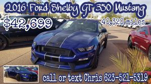 2016 Ford Shelby GT 350 Mustang (pay monthly) for Sale in Avondale, AZ