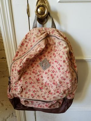 Girl's Flowery Cloth Backpack - Medium for Sale in St. Louis, MO