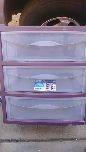 Plastic drawers for Sale in Ontario, CA