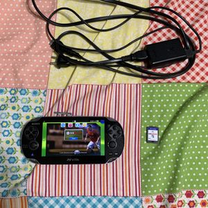 Sony PsVita Handheld Console With Charger And Fifa 12 Soccer Game for Sale in Richmond, TX