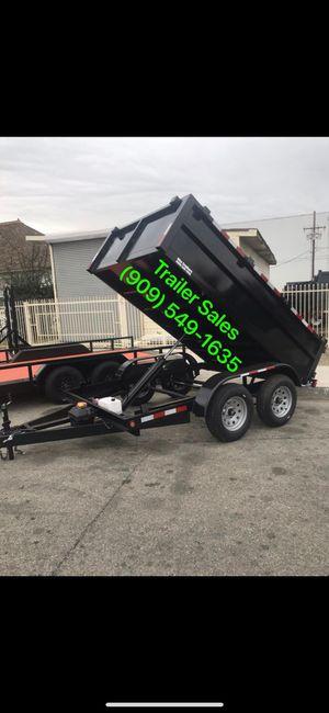 8x10x2 dump trailer $3499 for Sale in Huntington Beach, CA