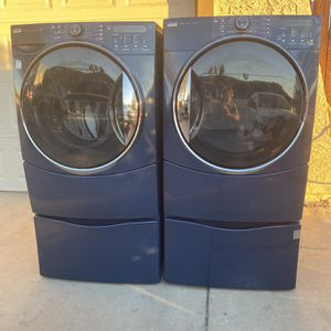 Kenmore elite washer and gas dryer Steam cycles for Sale in Riverside, CA