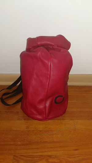 Red leather bag for Sale in Denver, CO
