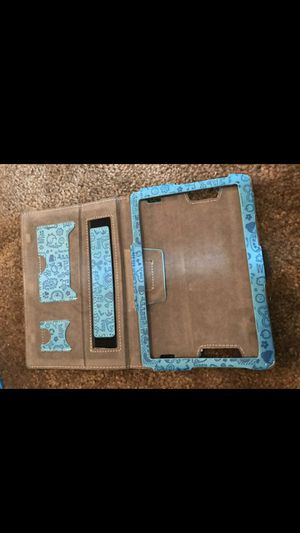 Amazon fire 7 inch tablet case baby blue for Sale in Kissimmee, FL