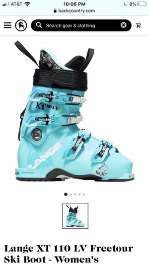 Lange XT free ski boot 22.5 for Sale in Irvine, CA