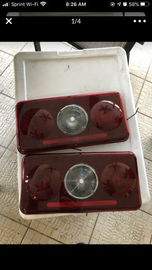Rv camper trailer rear taillights brake turn signals 7x14 for Sale in Miami, FL