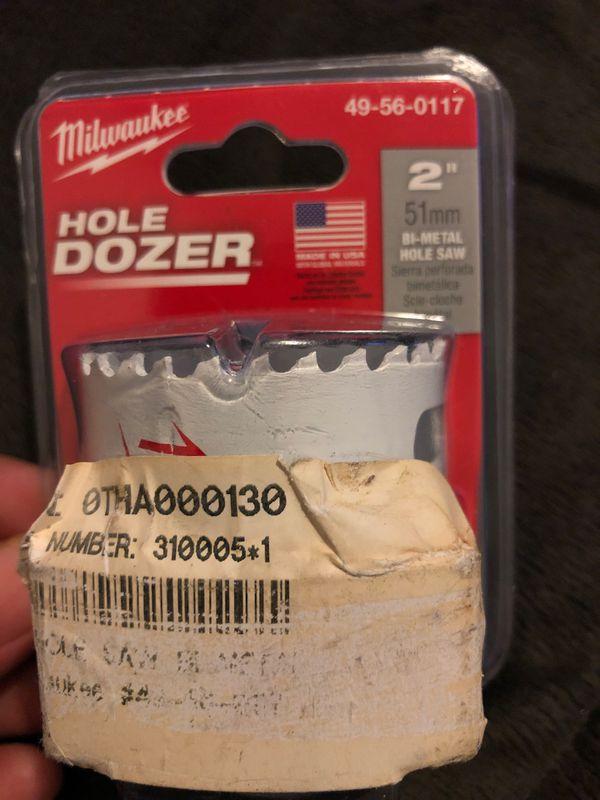 Hole dozer