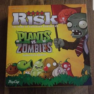 Risk Plants vs Zombies Board Game for Sale in Bridgeport, PA