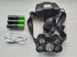 Headlamp Headlight XM-L T6 Rechargeable 18650 Head Lamp Light Torch for Sale in San Diego, CA