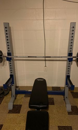 Olympic weight bench for Sale in Columbus, OH