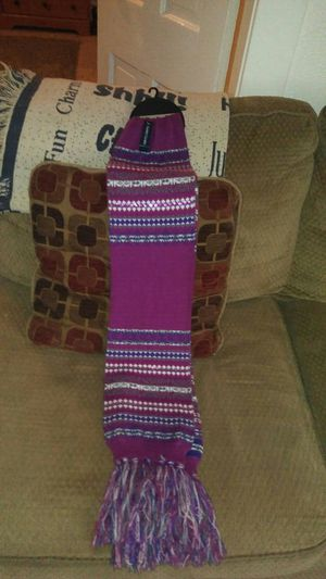 Brand new purple fringed scarf for Sale in Barberton, OH