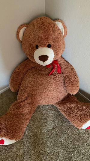5 foot plush teddy bear for Sale in Crockett, CA