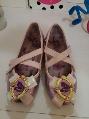 Rapunzel costume shoes for Sale in Spring, TX