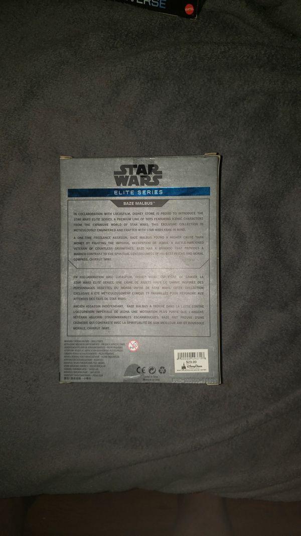 Star Wars Baze Malbus figure