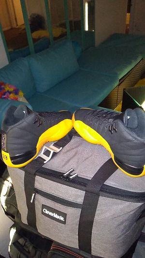 Jordan Retro 12s Black/University Gold Size 6Y for Sale in Hampton, VA