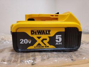 DeWalt 20V MAX XR 5AH Battery Pack for Sale in Fontana, CA