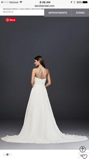 Wedding Dress A Line - Size 4 for Sale in San Diego, CA