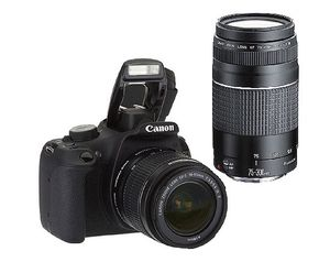 Canon Rebel T5 18MP DSLR w/75-300mm Lens for Sale in Miami, FL