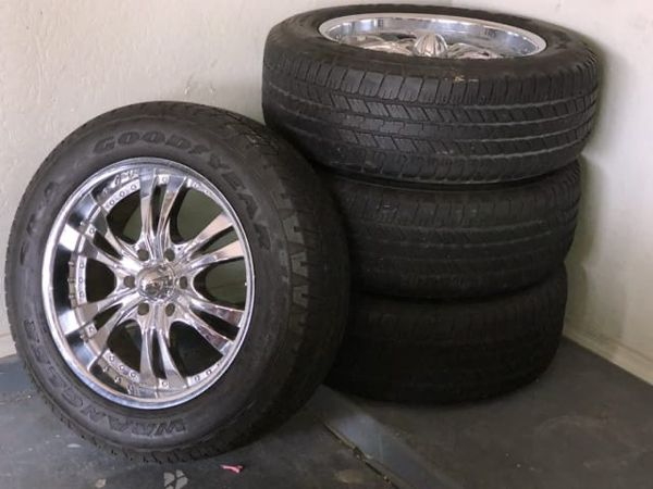 Chevy GMC rims and tires