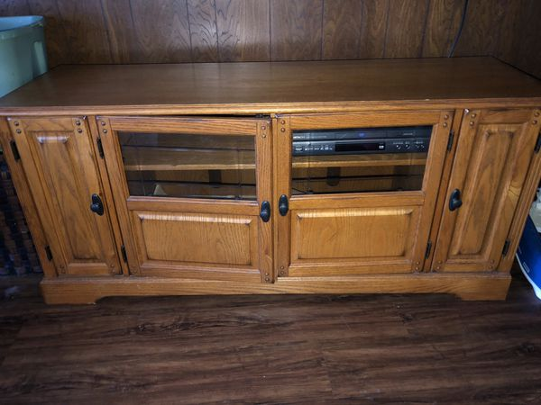 Accent Lighted Entertainment Center