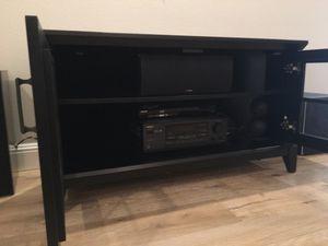 """Crate & Barrel 48"""" corner media console for Sale in Sunnyvale, CA"""