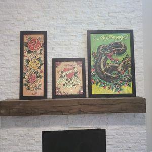 Ed Hardy Framed Art Priced Separately for Sale in Denver, CO