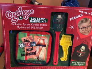 Brand New- A Christmas Story Leg Lamp Baking Kit for Sale in Virginia Beach, VA