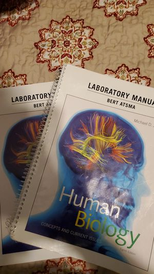 Human Biology Lab manual and Text book for Sale in Fresno, CA