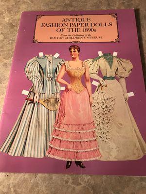 Vintage paper dolls uncut for Sale in Kent, WA