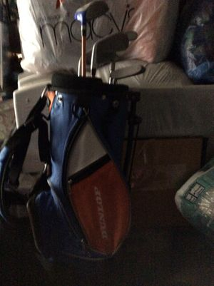 Golf bag with clubs for Sale in Daniels, MD