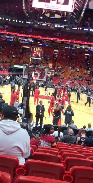 Heat v Cavaliers - Sec 112, Row 13 - MOBILE TICKET for Sale in Miami, FL