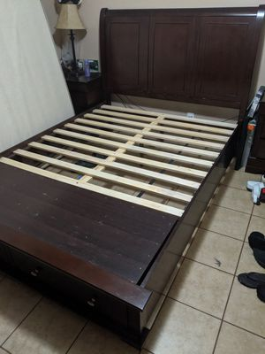 Bed frame with mattress for Sale in Hayward, CA