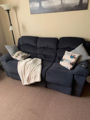 Good couch, clean, recliners on both Right and left side. for Sale in Brockton, MA
