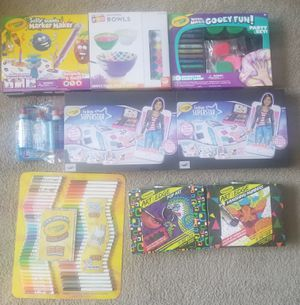 Art supplies Bundle, markers, glue, Pencils, kits for Sale in Los Angeles, CA