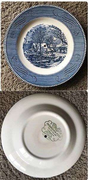 Currier and Ives antique plate for Sale in Murfreesboro, TN