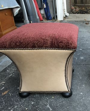Beautiful Custom Ottoman for Sale in Walnut Creek, CA