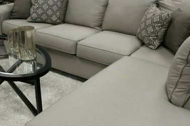 👍$39 Down Payment🍒 Best Deal🍒Calicho Cashmere RAF Sectional by Ashley for Sale in Washington,  DC