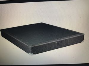 Base full-queen bed with frame NO MATRESS for Sale in Miami, FL