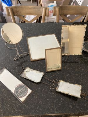 Giant lot of vintage & Antique wall mirrors for Sale in San Diego, CA