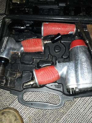 Freeman nail gun and Husky air gun tools missing some parts for Sale in Philadelphia, PA
