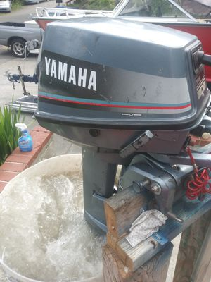 8hp yamaha 2 stroke long shaft for Sale in Seattle, WA