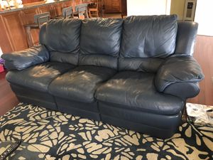 Natuzzi Leather Reclining Sofa and Loveseat for Sale in Miami Lakes, FL