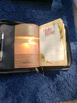 Holy Bible and Case for Sale in Sacramento, CA