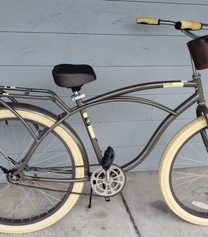 "26"" Mens Huffy deluxe beach cruiser bicycle bike. for Sale in Pasadena, TX"