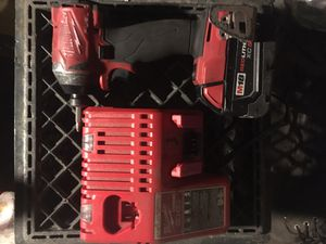 Milwaukee impact drill with charger for Sale in Santa Clara, CA