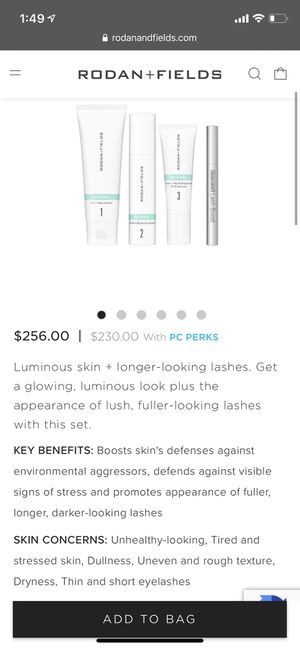 Rodan + Fields Recharge and Lash Boost Kit for Sale in Los Angeles, CA